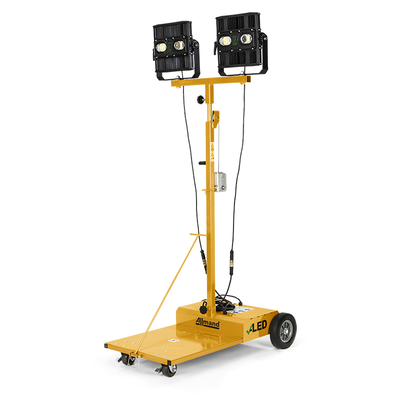 Portable Light Towers For Rent: Allmand
