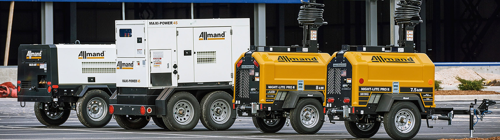 Allmand Jobsite Support Equipment