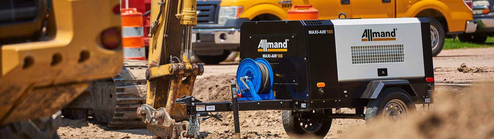 Allmand Maxi-Air Compressor