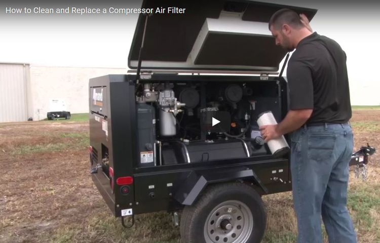 How to Clean and Replace an Air Filter on a ...